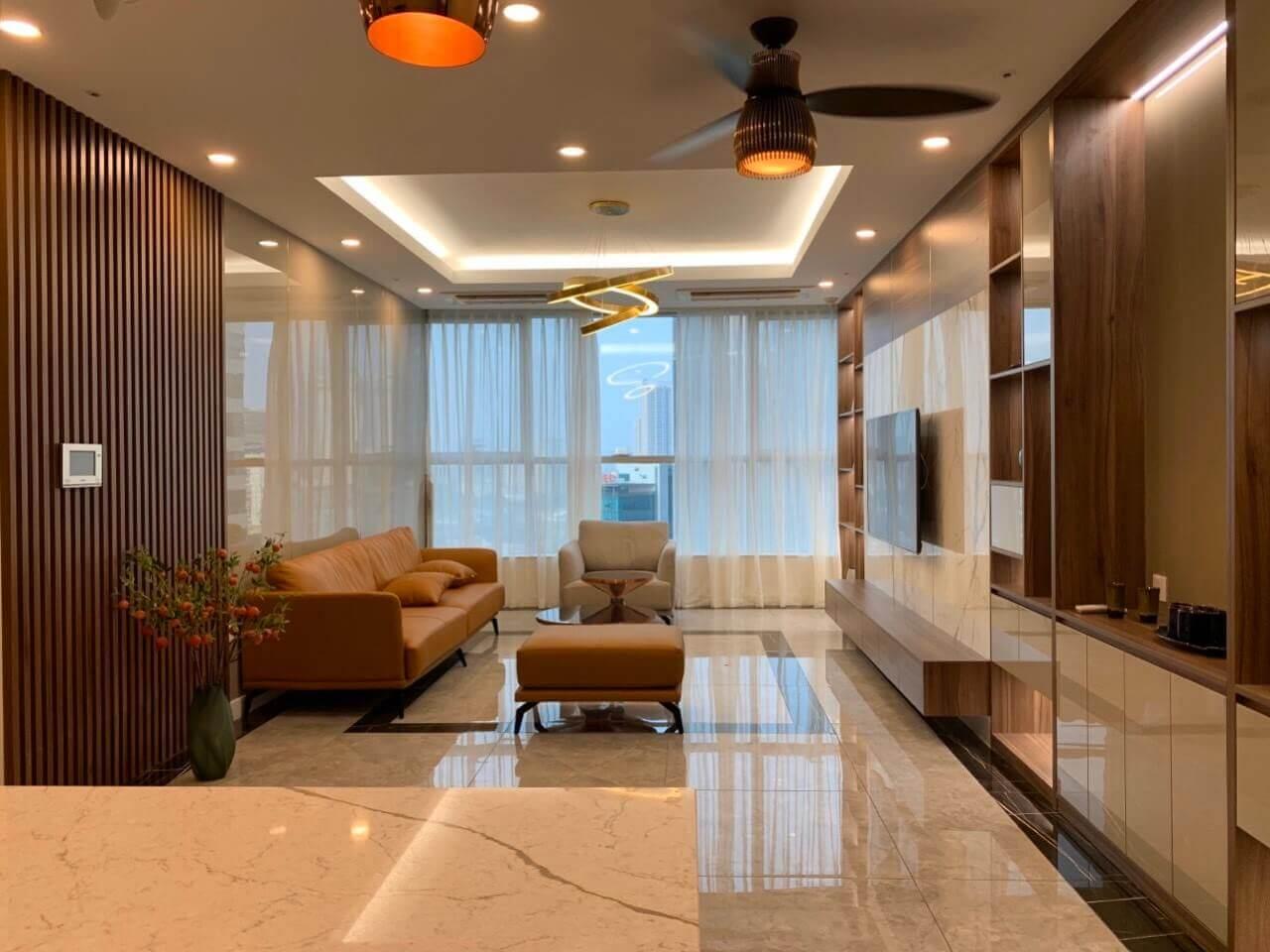 Thi công nội thất căn hộ chung cư Keangnam đẹp hiện đại