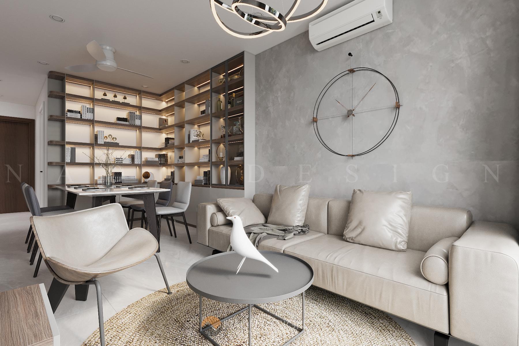 Thiết kế Duplex Vinhomes WestPoint