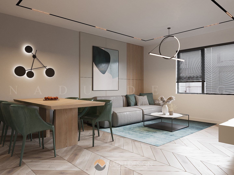 Thiết kế cải tạo chung cư D5 - TP. HCM
