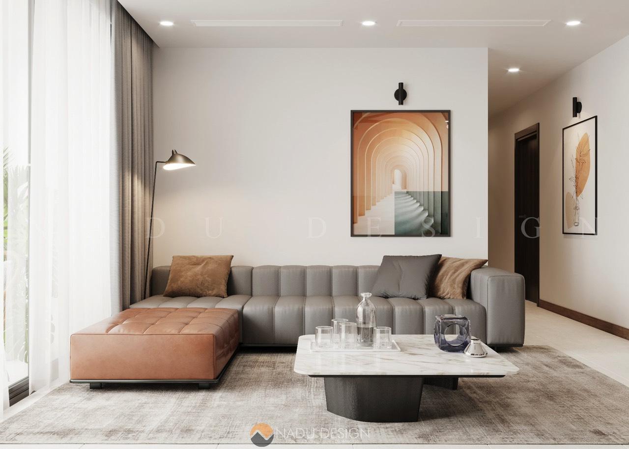 Thiết kế căn hộ The Zei Mỹ Đình 3 phòng ngủ