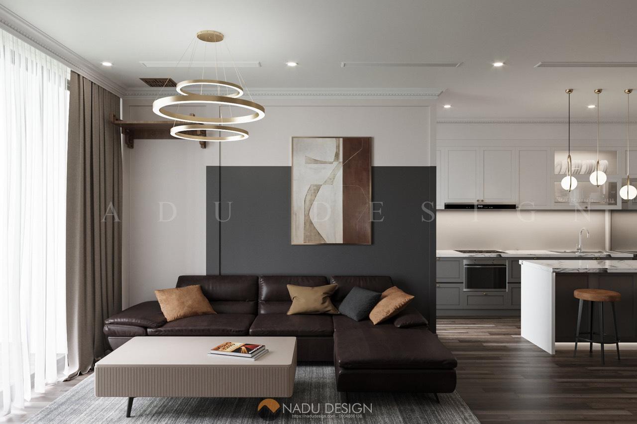 Thiết kế thi công Vinhomes Westpoint - căn hộ sang chảnh