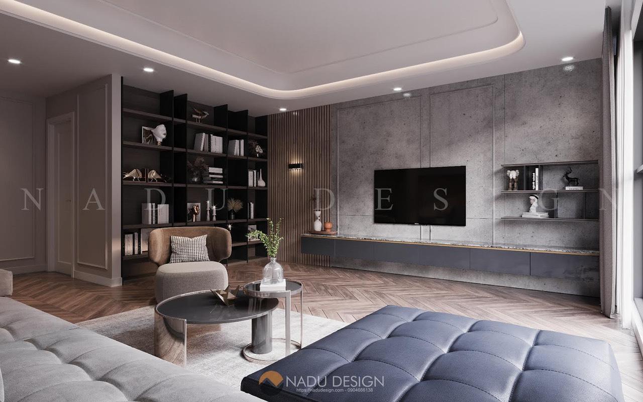 Thiết kế thi công căn hộ Iris Garden phong cách Bắc Âu
