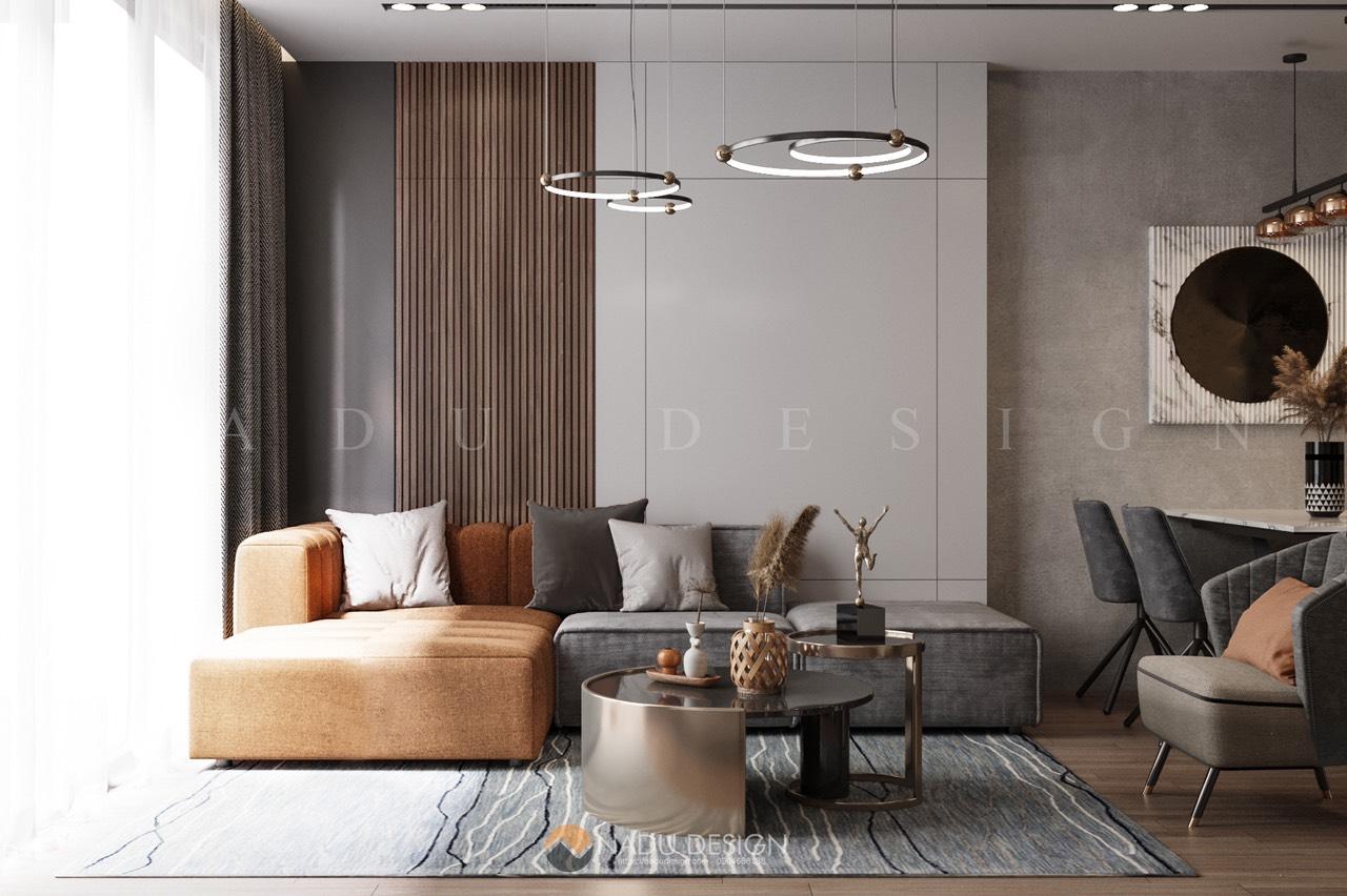Thiết kế căn hộ Terra An Hưng 72m2 trẻ trung hiện đại