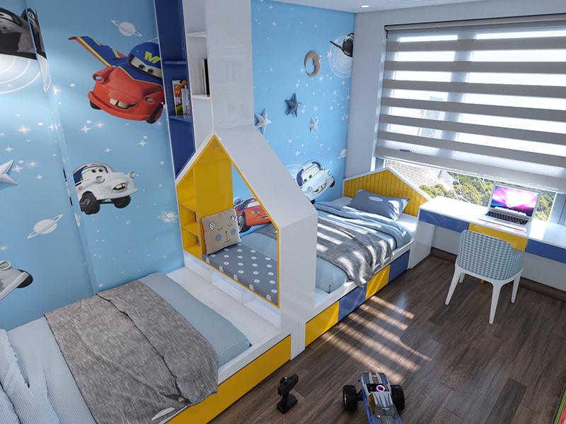 Phòng cho bé